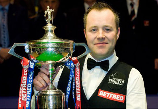 john higgins. John Higgins started playing