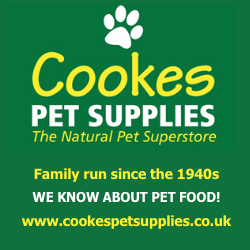 Cookes Pet Supplies - The natural pet superstore, click to visit the website
