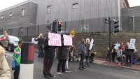Parents protest to save Heeley lollipop lady