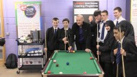 Snooker helps with maths in school says Davis