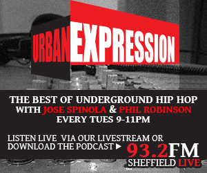 Urban Expression - The best of Underground Hip-Hop every Tuesday, 9-11pm on 93.2FM, Livestream and podcast, Click for details