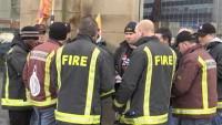 24 hour strike by Fire Brigade