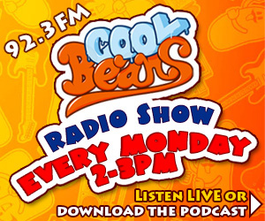 Coolbeans radio show – New music, old music, special guests, live sessions and guaranteed top notch chat from Chris Arnold and his good friends!