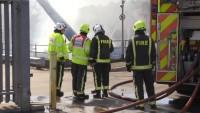Fire at scrapyard