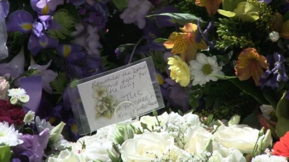 Sheffield marks International Workers Memorial Day