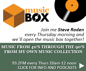 Music Box – Radio show including music from the 40's through the 90's