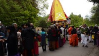 Hindu Festival of Chariots celebrated in Endlciffe Park