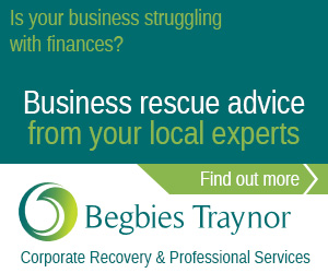 Advertisment: Begbies Traynor, business recovery specialists, click for more information