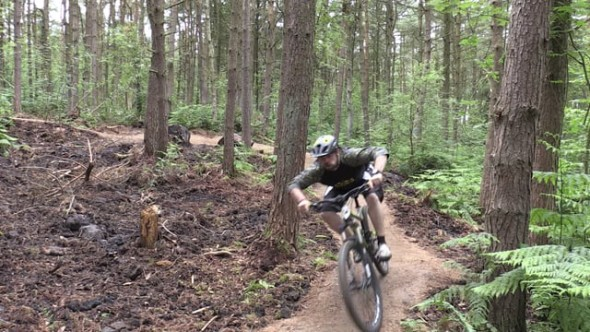 New mountain bike trail funded by crowdfunding