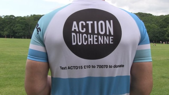 Cyclists raising money for charity